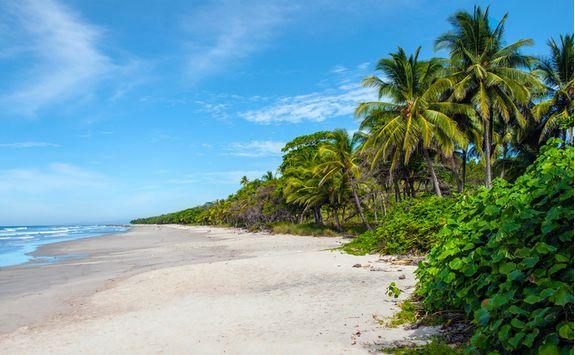 Gulf of Papagayo beach