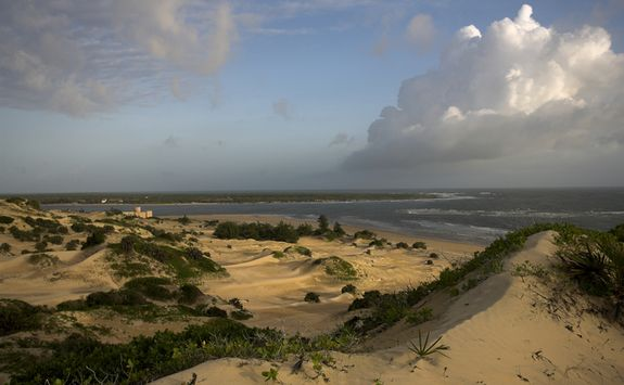 Lamu sand dunes