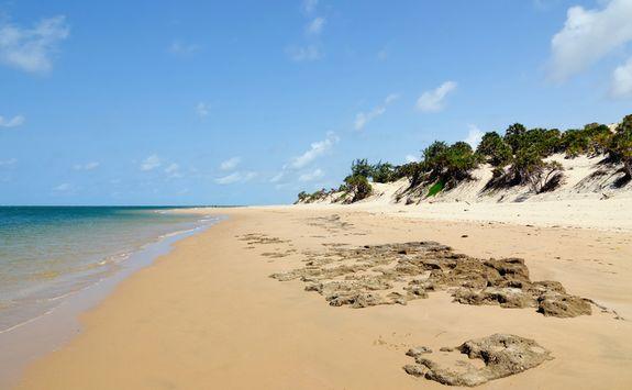 Beach in Lamu