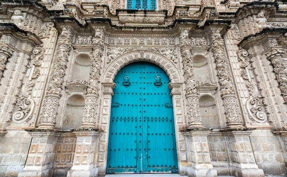 Cajamarca Cathedral facade