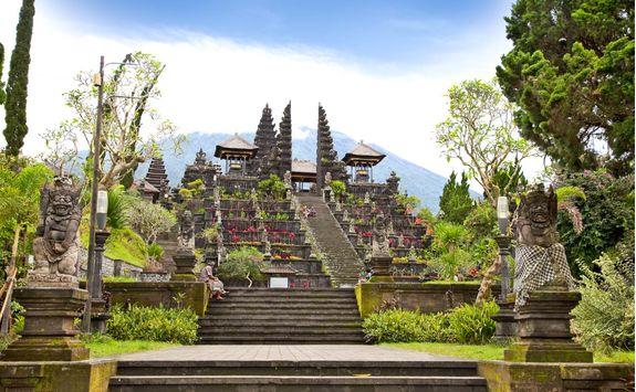 agung besakih complex temple