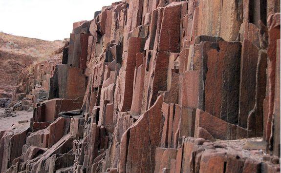 the organ pipes rock
