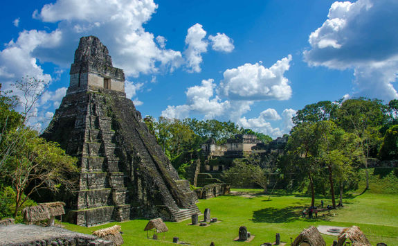 tikal ruins temple