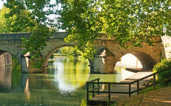 Bridge in Chalons en Champagne