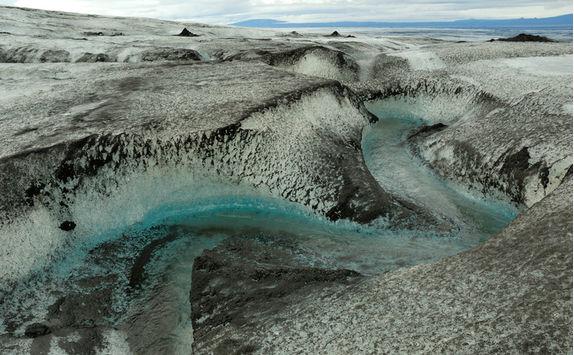 Glacier at Kverkfjoll