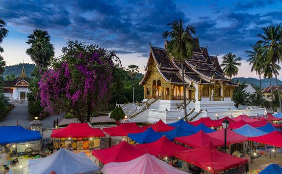 Night Market Vientiane
