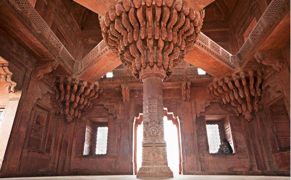 Inside Fatephur Sikri