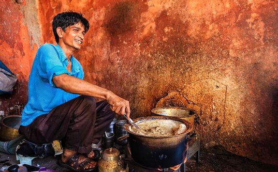 Jaipur street seller