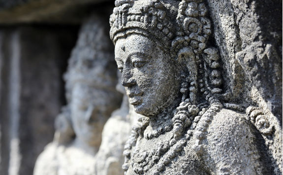 Detail at Prambanan Temple