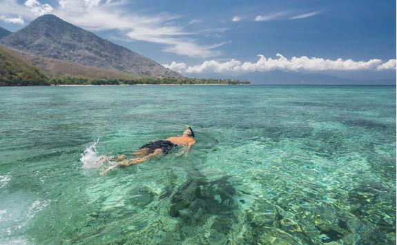 Snorkeling at Komodo Island