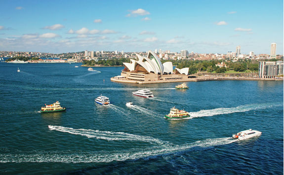 View of Sydney Opera House