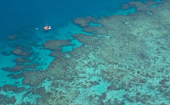 Great Barrier Reef aerial