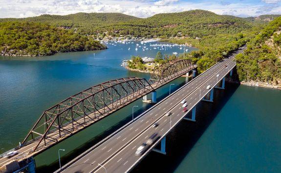 Hawkesbury Bridge, Sydney