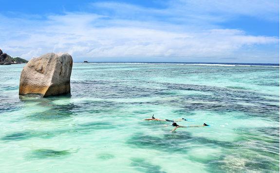 Snorkelling Seychelles