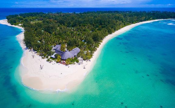 Denis Island aerial
