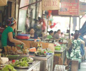 Food Market, Hanoi