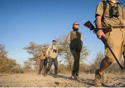 ongava lodge walking safari