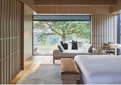 Room interior at Amanemu