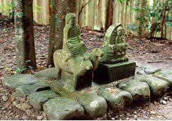 Kumano Kodo trail shrine