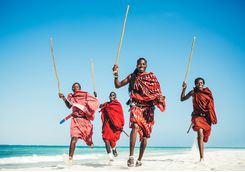 masai people beach