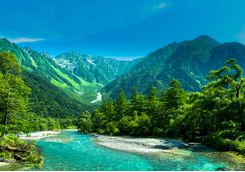 kamikochi azusa river