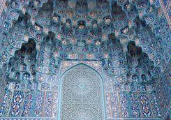 Blue art in Marrakech