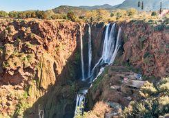 Atlas Mountains waterfall