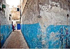 Street in Essaouira