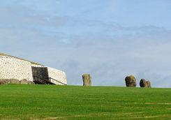 Newgrange burial grounds