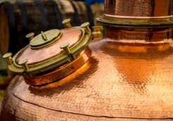 A Copper Still for whisky
