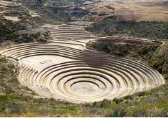 Inca site of Moray