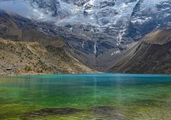 Lake Peru, Urubamba Mountains
