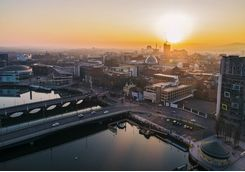 Belfast at Sunset