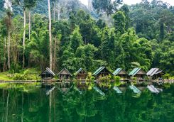 kaho sok national park village