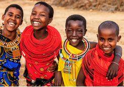 Masai girls