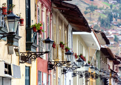 Buildings in Cajamarca