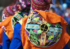 Dancers at Inti Raymi Festival