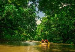 rafting river