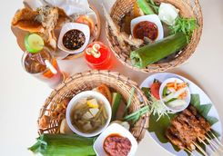balinese lunch packed