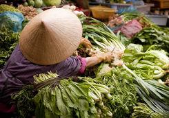 Market in Vietnam