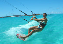 Waterskiing in Antigua