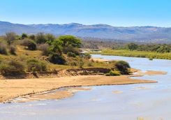 White Umfolozi panorama from viewpoint