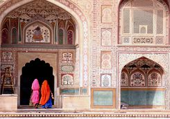 Women at Amber Fort