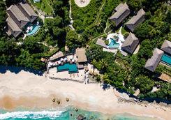 Aerial view of Nihi Sumba resort