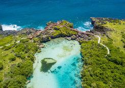 Lagoon in Sumba Island