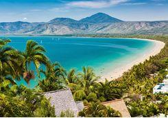 Port Douglas beach and ocean