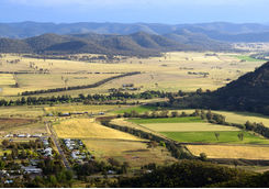 Aerial view of Hunter Valley