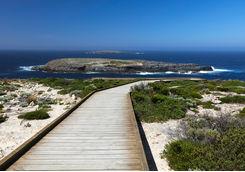 Boardwalk to Admirals Arch