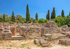 Ruins in Gortys