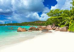 Anse Lazio in Praslin Island